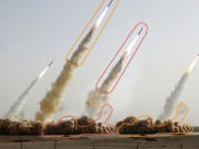 La photo des quatre missiles