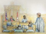 Mohammed Junaid Babar a témoigné au procès de Momin Khawaja le 24juin 2008 à Ottawa.