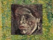 Un portrait de femme se cache derrière «Un coin d'herbe»