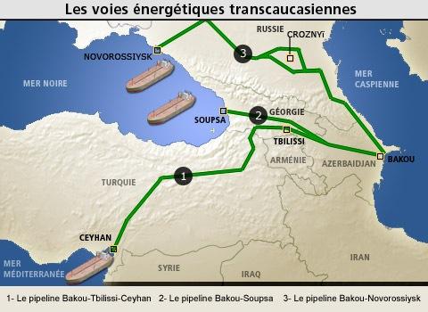 Les voies énergétiques transcaucasiennes