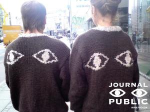 Publicite pour le projet «Journal public»