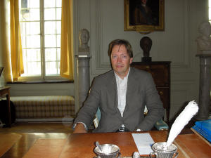 Horace Engdahl, secrétaire perpétuel de l'Académie de Suède, qui décerne notamment le prix Nobel de littérature