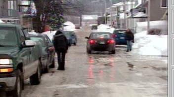 Les rues sont glacées à Saguenay