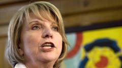Monique Jérôme-Forget, ministre des Finances du Québec, le 18 mars 2009