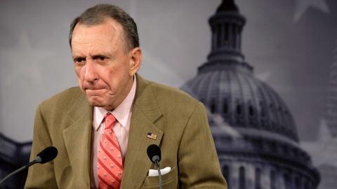 Le sénateur américain Arlen Specter