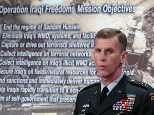 Le général Stanley McChrystal, nouveau commandant des forces américaines en Afghanistan