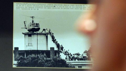 Le cliché le plus célèbre de la chute de Saïgon