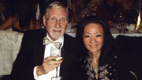 Hugh Van Es et sa femme, Annie