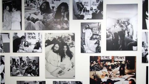 Photos du bed-in de 1969