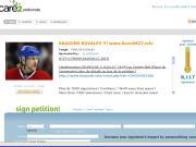 P�tition pour sauver ALex Kovalev