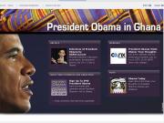 Le dossier sur la visite de Barack Obama au Ghana