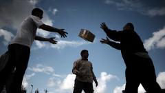 Des travailleurs humanitaires