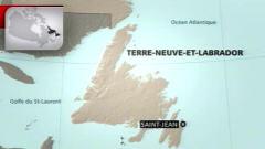 Carte de Terre-Neuve-et-Labrador