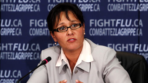 La ministre de la Santé du Canada, Leona Aglukkaq