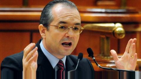 Le premier ministre déchu Emil Boc