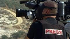 Un journaliste à Bil'in, le 16 octobre 2009