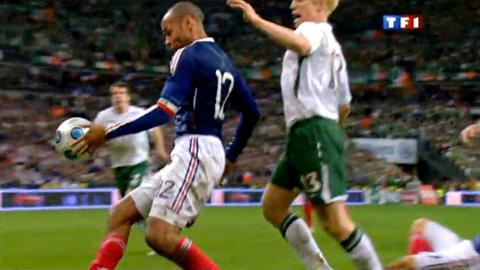 La faute de main de Thierry Henry