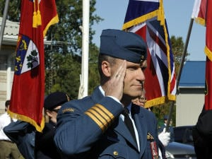 Le colonel Russell Williams, commandant en chef de la base de Trenton