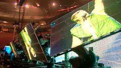 Tanya Lapointe a visité les coulisses du spectacle de Bon Jovi, à Montréal.