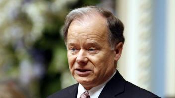 Le ministre des Finances du Québec Raymond Bachand