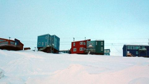 Des maisons qu'on surnomme « blocs Lego ».