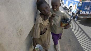Des enfants talibés du Sénégal
