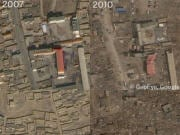 Images satellites du séisme en Chine