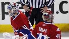 Carey Price et Jaroslav Halak