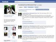 Page de dessins de Mahomet sur Facebook
