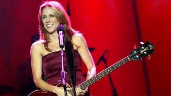 Sheryl Crow en spectacle à Los Angeles en 2003.