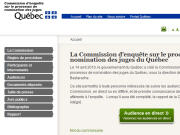 Site de la commission Bastarache