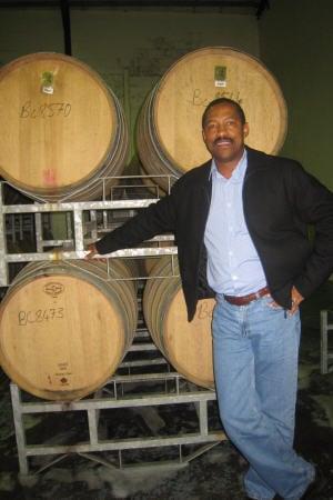 Vernon Henn, directeur de Thandi Wines