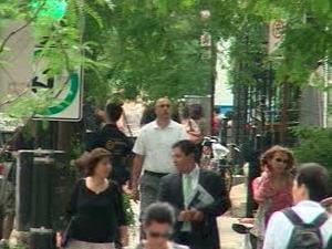 Les Montréalais ont nettement ressenti la secousse sismique survenue en début d'après-midi.
