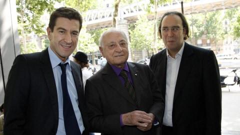 Xavier Niel et Pierre Bergé, repreneurs du journal Le Monde