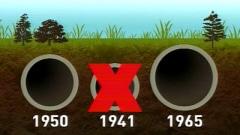 L'oléoduc installé en 1941 est désormais condamné.