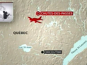 Accident d'avion mortel au Saguenay-Lac-Saint-Jean.