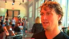 Kevin Parent lors de l'annonce de sa participation au film «Le café de flore» de Jean-Marc Vallée