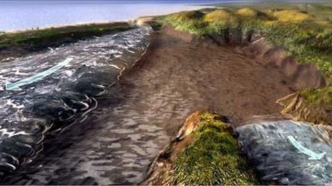 Bible - Exode des Hébreux : Le partage des eaux expliqué ? 100923exode-hebreux-science_8
