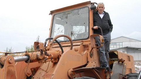 Joe et son bulldozer, en 2010