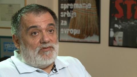 Miljenko Dereta, ancien opposant au r�gime Milosevic