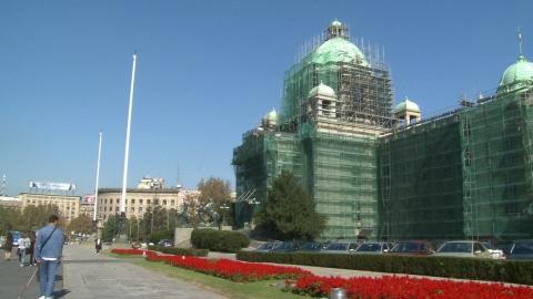 Le Parlement serbe
