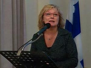 La ministre Marguerite Blais