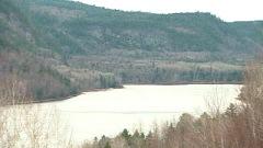 La rivière Saint-Maurice à La Tuque