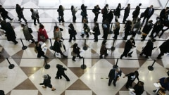 Foire de l'emplois aux États-Unis.