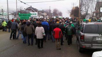 Marche verte pour aider la région à se relever