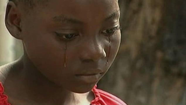 St�phanie, une jeune Ha�tienne victime d'esclavage