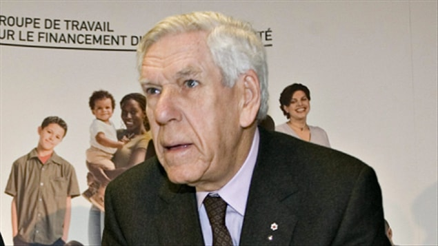 Claude Castonguay en 2008 (archives)