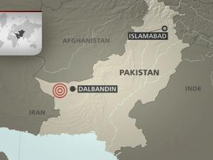 L'épicentre du séisme est à Dalbandin.