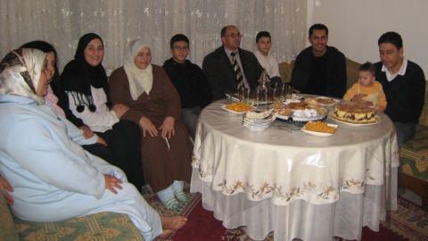 La grande famille des Mezgui à Casablanca