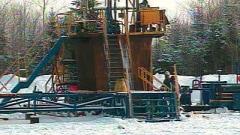 Site de forage de gaz de schiste
